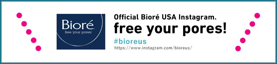 Official Bioré USA Instagram. free your pores! #bioreus