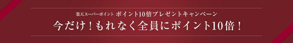 ポイント10倍プレゼントキャンペーン 今だけ!もれなく全員にポイント10倍!