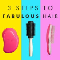 3steps to fabulous hair