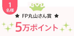 1名様 FP丸山さん賞 5万ポイント