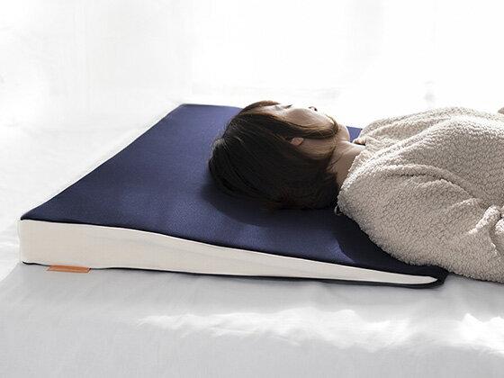 眠りを助ける理想の角度7° スリープサポートピロー