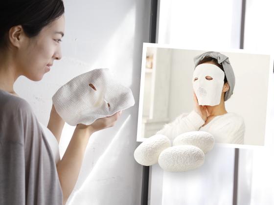 明日の肌が進化する シルクのうるおいフェイシャルマスク