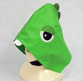 ガチャピンなりきり防災頭巾 画像1