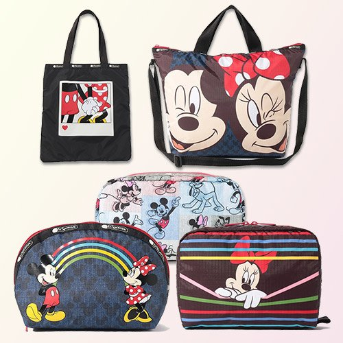 """LeSportsac """"Mickey & Friends Collection"""""""