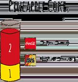 PINEAPPLE COKE - パイナップルコーク コカ・コーラ / リアルゴールド