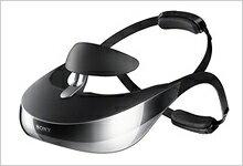 ソニー 3D対応ヘッドマウントディスプレイ