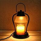 ヤンキーキャンドルのランプ