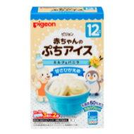 ピジョン株式会社 赤ちゃんのぷちアイス ミルク&バニラ(3食分*2袋)