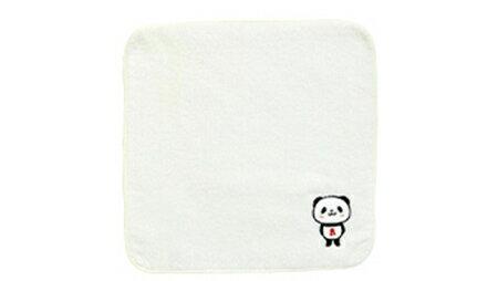 お買いものパンダ 今治刺繍タオルハンカチ(非売品)
