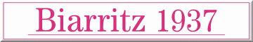 Biarritz 【ビアリッツ】