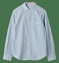 綿麻シャツ