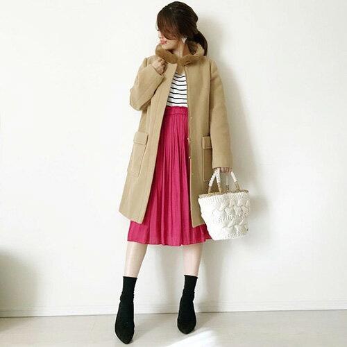 ma_anmiさん着用のコート