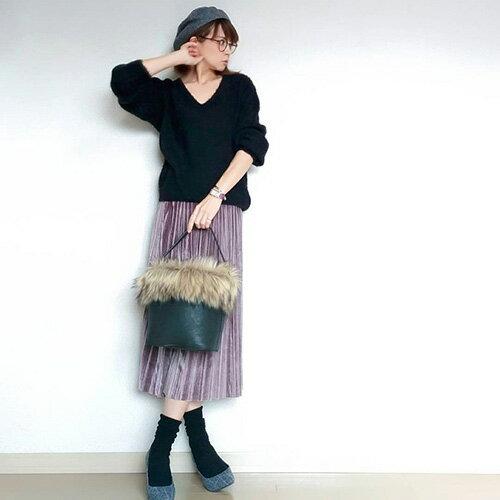 akokakoさん着用のスカート