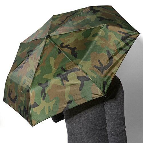 カモ柄折り畳み傘