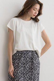 AラインフレンチTシャツ