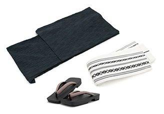 男性向け浴衣の着方:着付け・帯