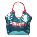 kitson Los Angeles Sequin Tote Bag