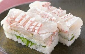 着いたその日が賞味期限 生さば寿司