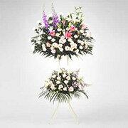 葬儀用スタンド花