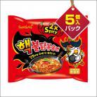『三養』ヘクブルダック炒め麺(5パック)