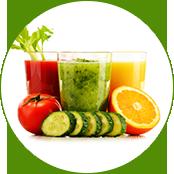 ジュースや野菜・果実飲料