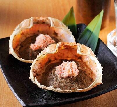 高級珍味 カニ味噌甲羅盛り (6個入り)