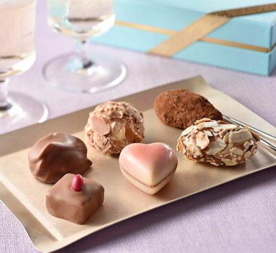 ベルギーチョコレート トリュフ&プラリネアソート(6個入り)
