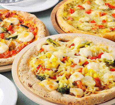 《ヴィーガン対応》植物性ピザ選べる3枚セット