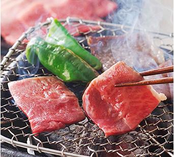 飛騨牛焼肉(モモ・肩)350g 焼き肉
