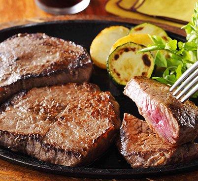 九州産黒毛和牛A5ランク 極上ランプステーキ