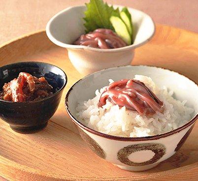 函館 いか塩辛 醤油漬(山わさび入り) セット