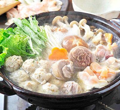 青森シャモロック しゃぶしゃぶと水炊きのセット(4〜5人前)