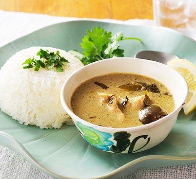 グリーンカレー(ジャスミンライス付)4食セット