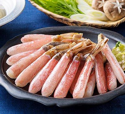 生 ずわいがに 棒肉ポーション (500g)