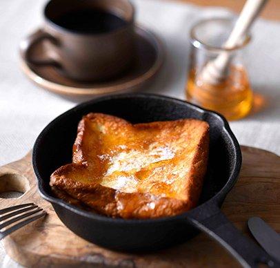 フレンチトーストセット(メープルシロップ付き)
