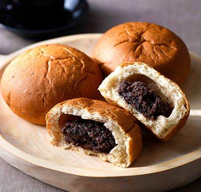 ずっしり11種 べっぴんパン 黒豆餡