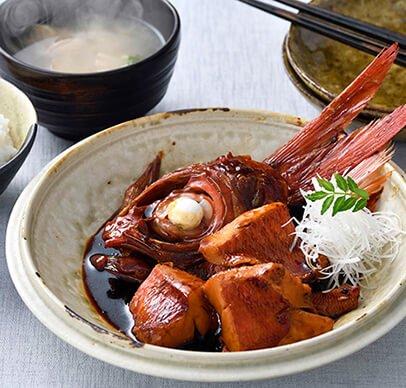 ふっくら金目鯛 煮付けセット レシピ付