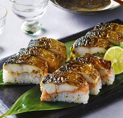 3種の博多焼き鯖棒寿司セット