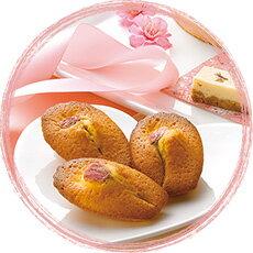 桜の洋菓子