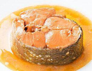 南三陸産銀鮭の醤油煮缶詰
