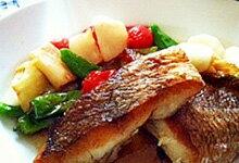 鯛のポワレのレシピ