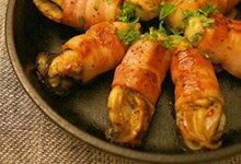 牡蠣のベーコン巻きグリルのレシピ