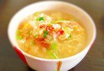 ポン酢で食べよう★ちょっとリッチな蟹雑炊
