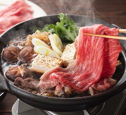 飛騨牛すき焼き鍋セット(2人前)