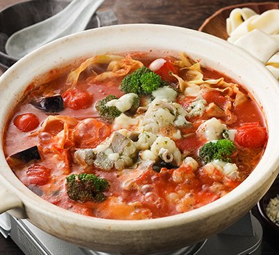 チーズとトマトのローマ風もつ鍋≪約2~3人前≫