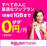 すべての人に最適なワンプライス!1回線目1GBまで0円/月 ※条件あり