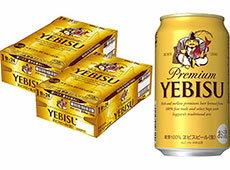 サッポロビール静岡(焼津)工場生産 プレミアムヱビスビール350ml×24本入 2ケース