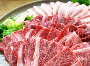 宮崎和牛・宮崎県産豚 焼肉セット 1.1kg