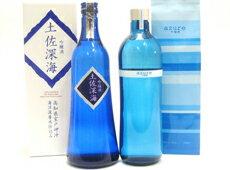 室戸海洋深層水で造った吟醸酒の飲み比べセットです。