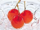 3つの驚き!いろいろな色と食感が楽しめるプチジェリチェリー。半解凍がオススメ!